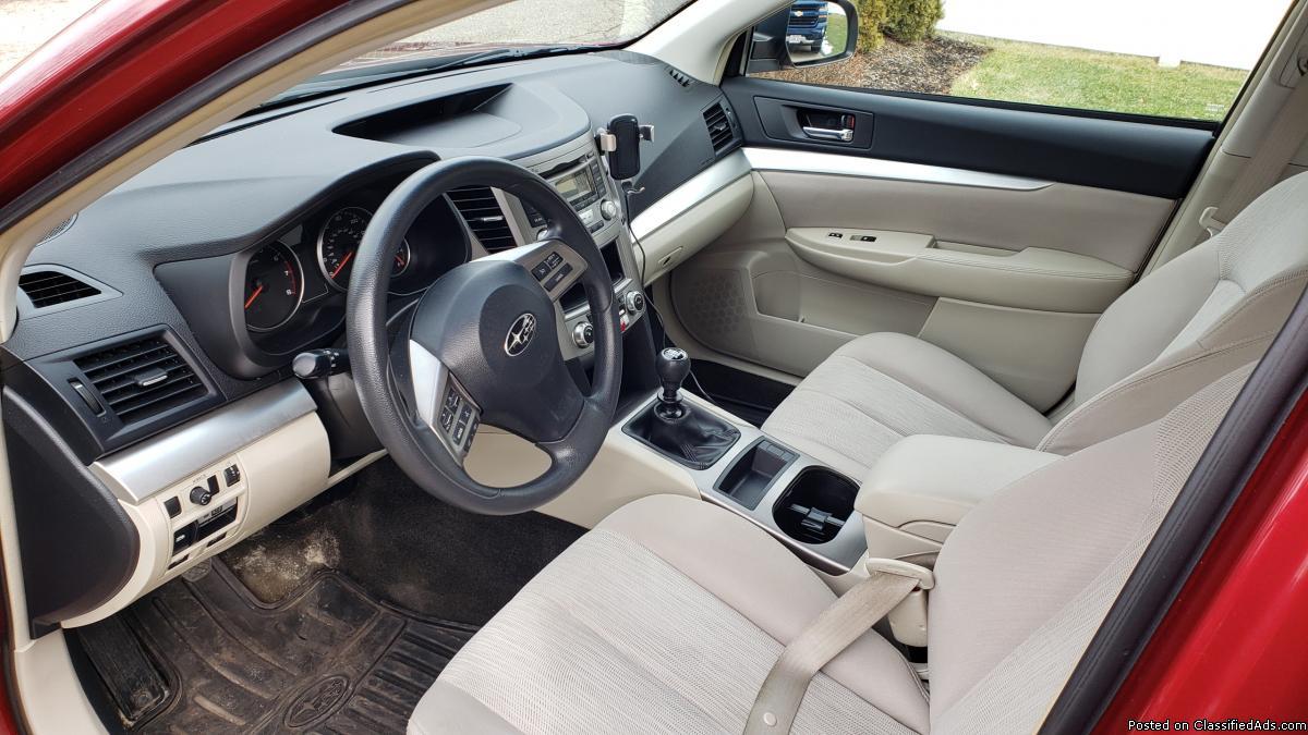 Subaru Legacy 2.5 6spd