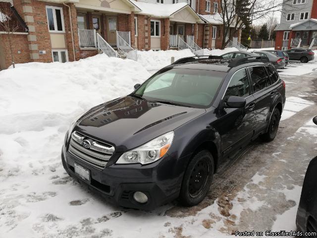 Subaru Outback Touring Edition