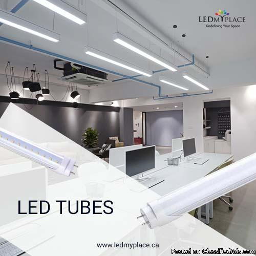 Light your Indoor spaces with Best Quality LED Tube Lights