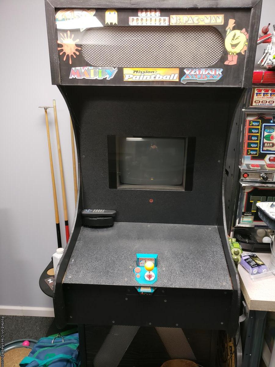 MS PAC-MAN Home made arcade game