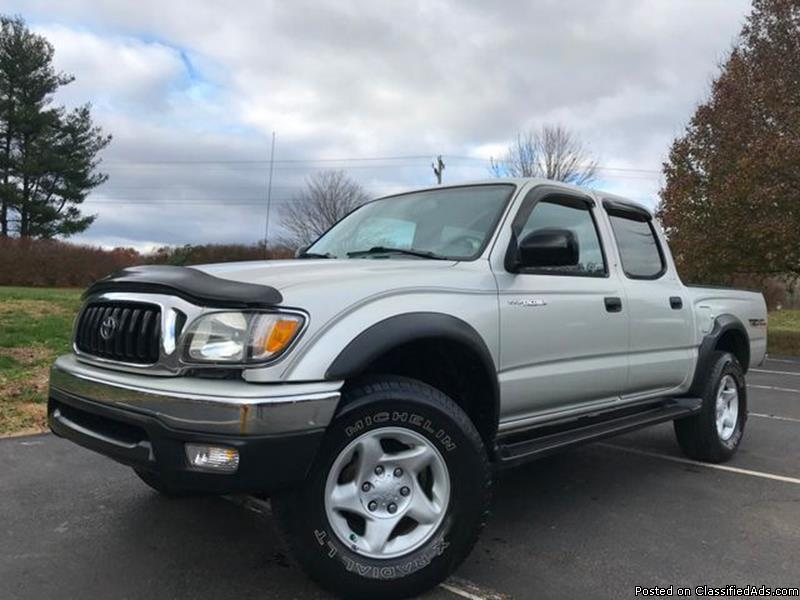 New  Toyota Tacoma Silver Pickup Truck