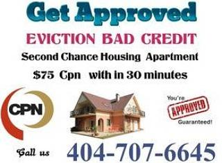 BAD CREDIT EVICTIONS GET APPROVED WITH $75 CPN