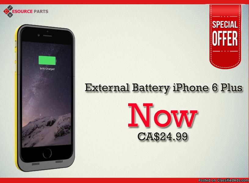 Best Offer iPhone 6 Plus External Battery