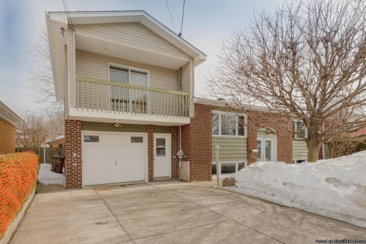 Belle maison split de 4 chambres avec garage à Fabreville