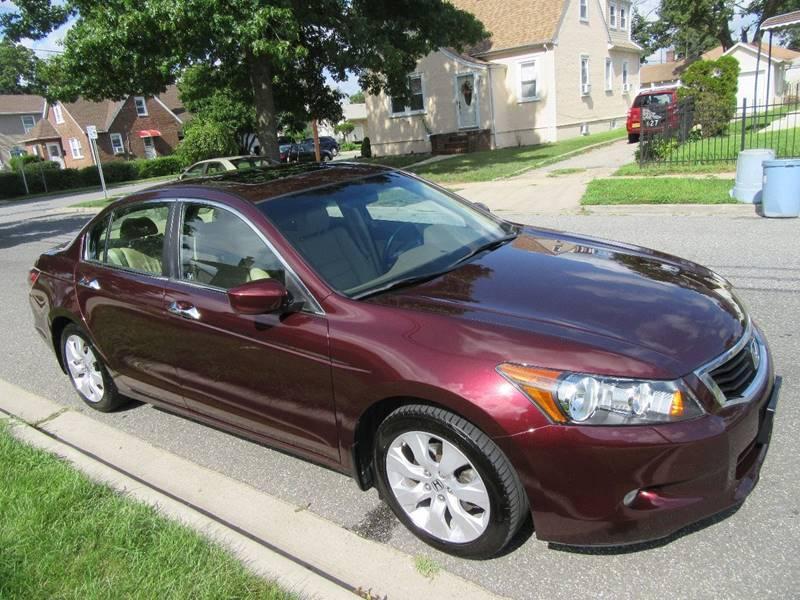 Honda Accord Burgundy Sedan