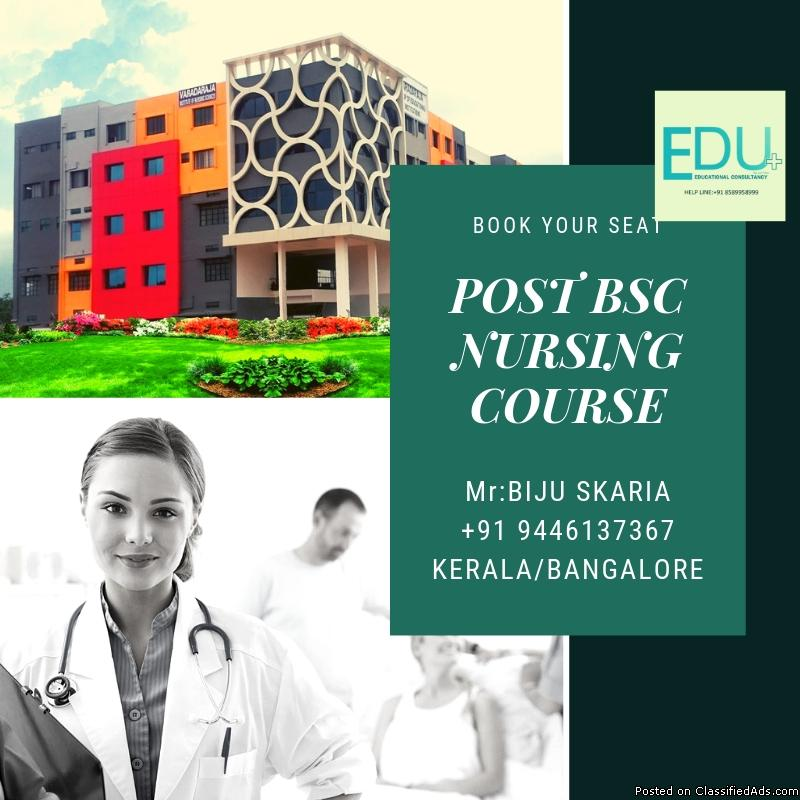 MSC AND POST BSC NURSING DISTANCE LEARNING COURSE