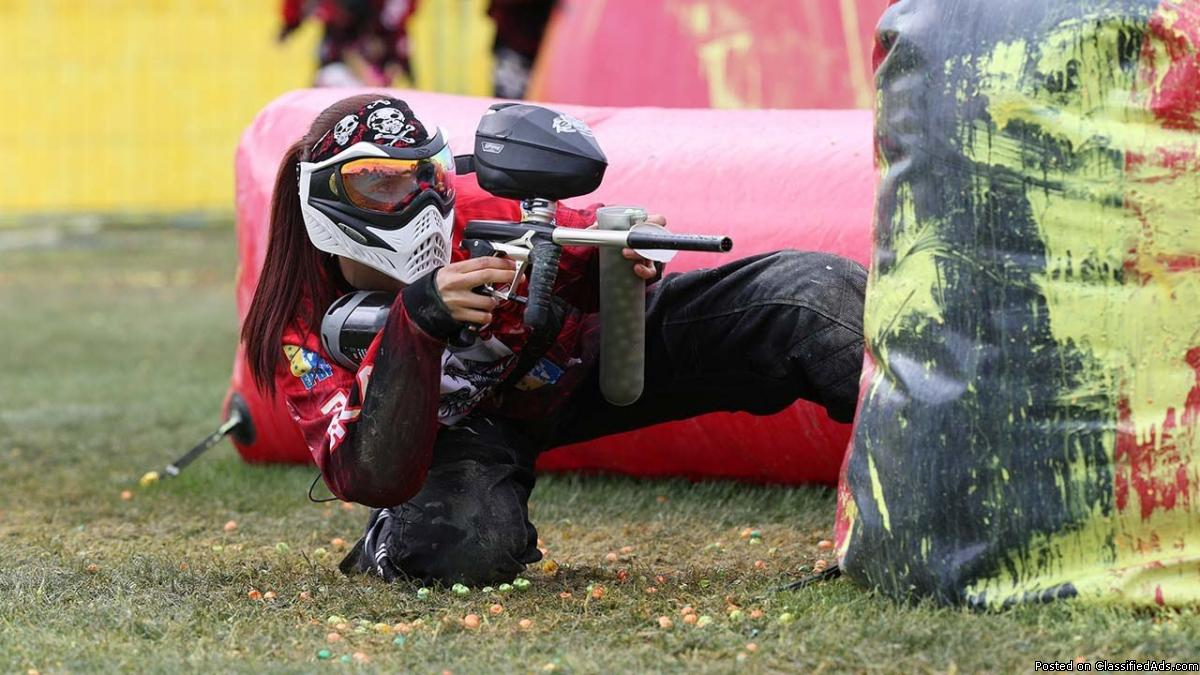 Paintball business for sale South-Shore of Montreal