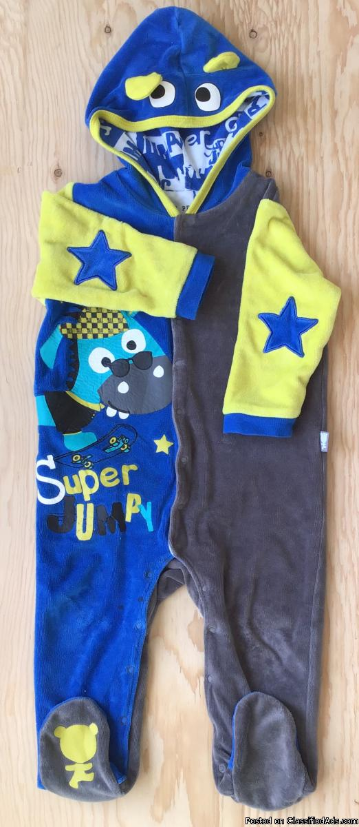 Vêtements pour bébé garçon. Habit coton chaud bébé