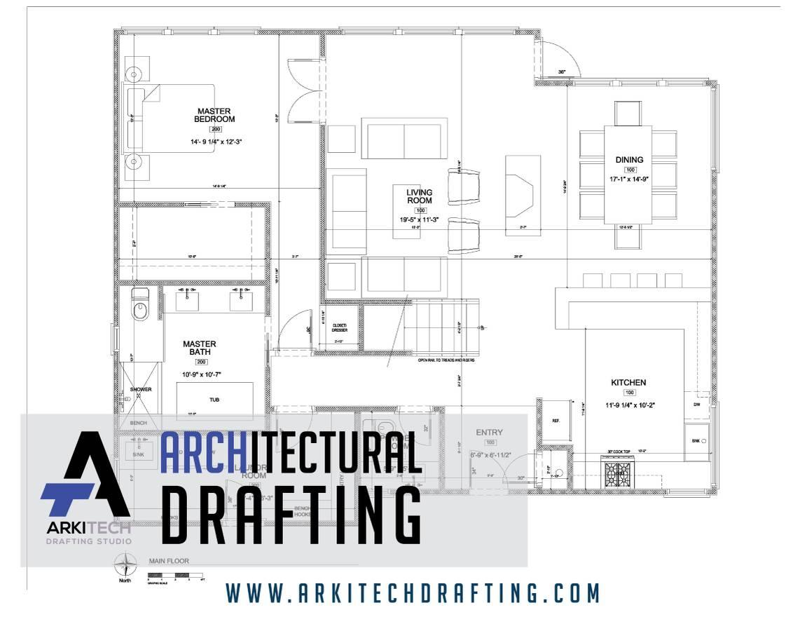 ARCHITECTURAL CAD DRAFTING | ARKITECH (DRAFTING STUDIO)