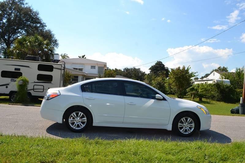 New  Nissan Altima White Sedan