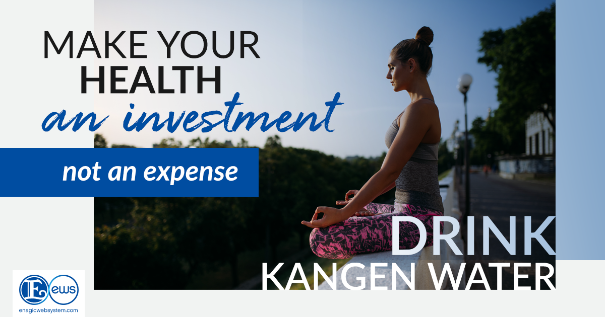 Invest in your health!