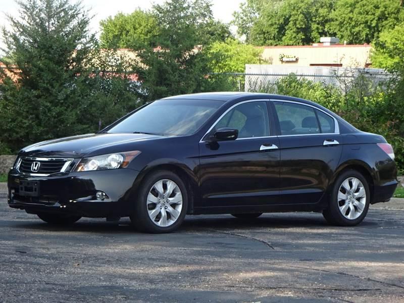 Like New  Honda Accord EX-L Black Sedan