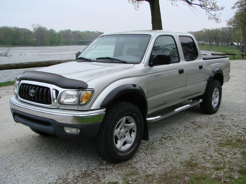 Toyota Tacoma Silver Pickup