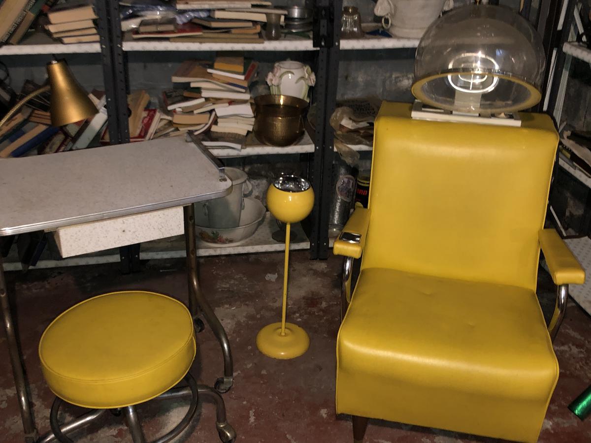 Vintage Salon Equipment