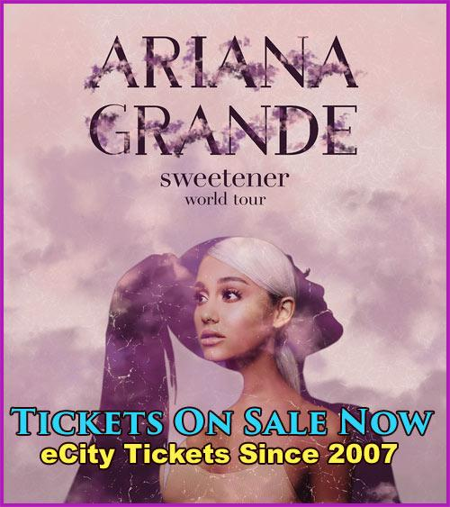 ARIANA GRANDE BOSTON TICKETS ON SALE