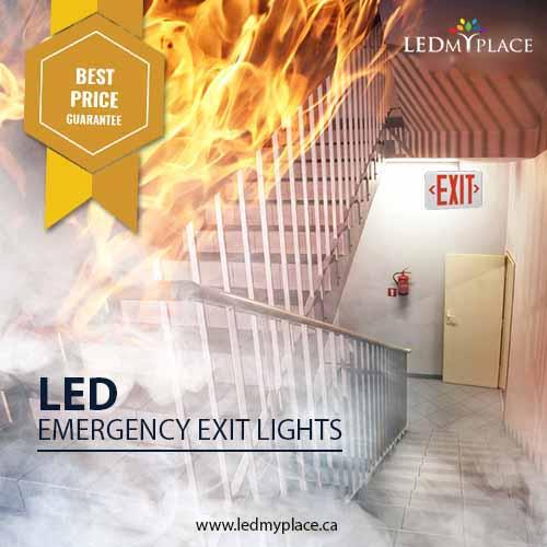 Use LED Emergency Lights to Reach the Safest Place at the
