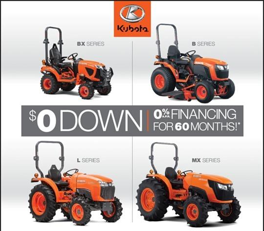 KUBOTA FIELD EVENT OPEN HOUSE 9-3 MAY 4TH