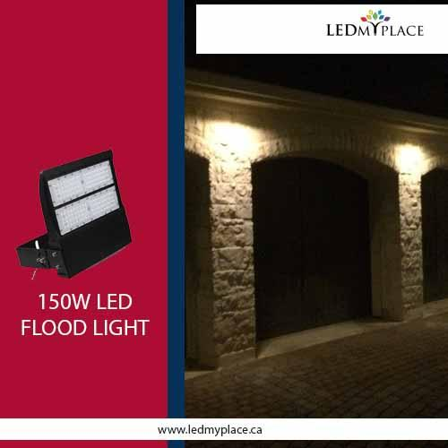Use 150W LED Flood Light Fixture is Best for Outdoor