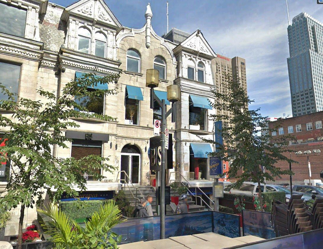 Former Europea restaurant for sale in the heart of downtown
