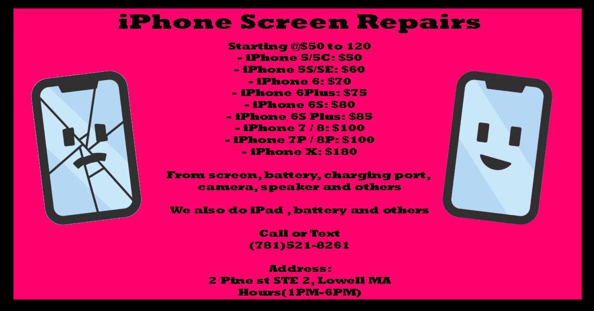 iPhone Screen Repair and Fix