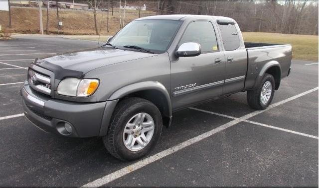 Low Price  Toyota Tundra Gray Pickup