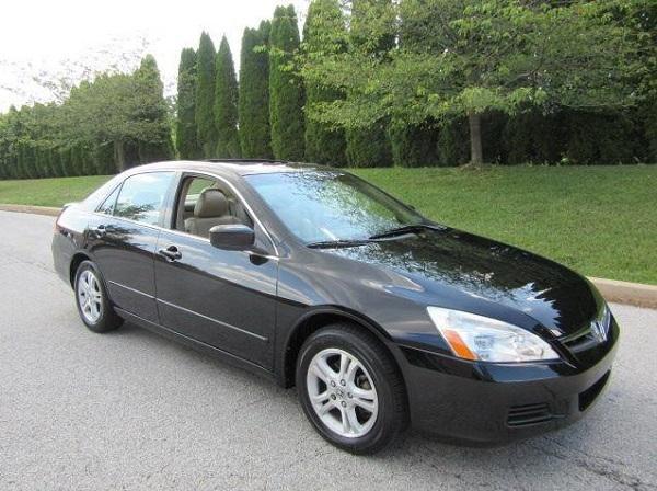Honda Accord EX Black Sedan