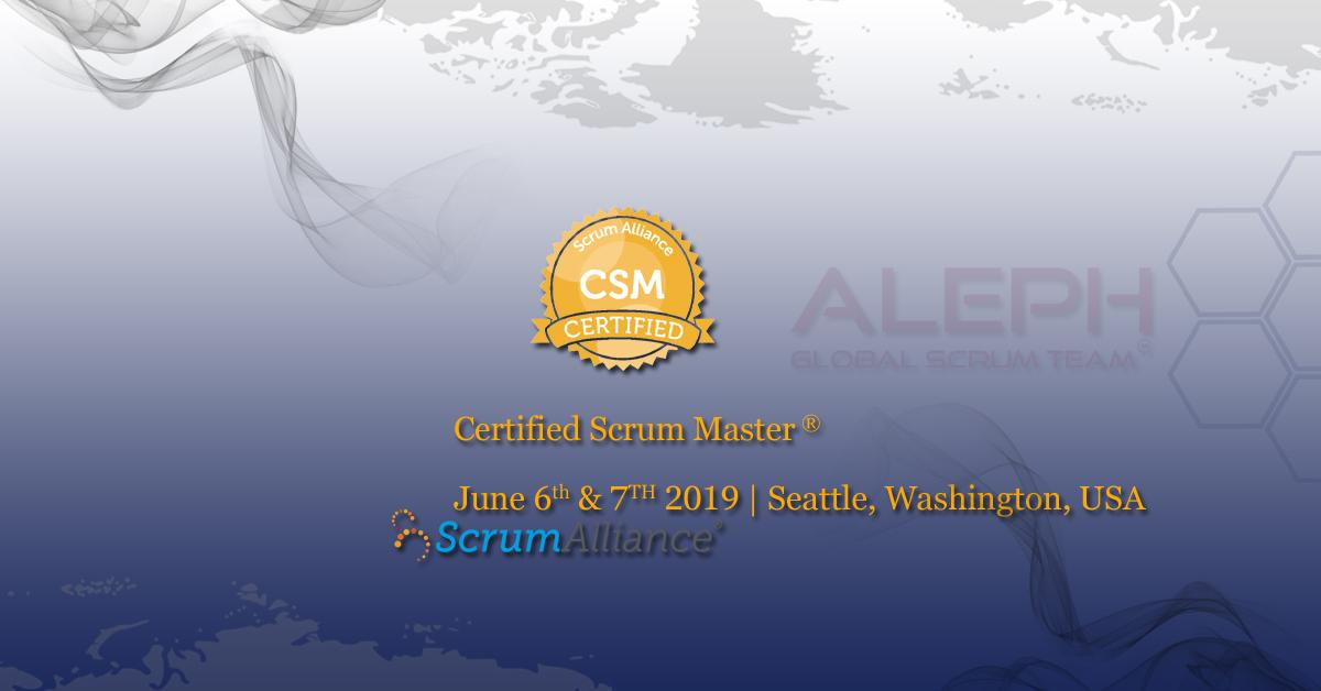 Scrum Master –CSM   Professional Trainers   Aleph