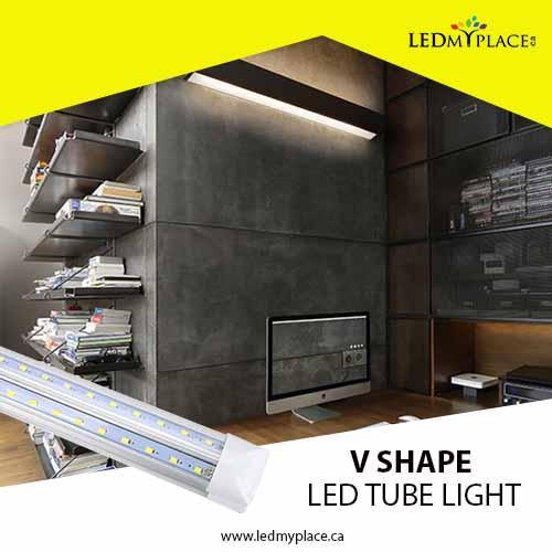Save Energy Consumption By using V Shape LED Tube Light