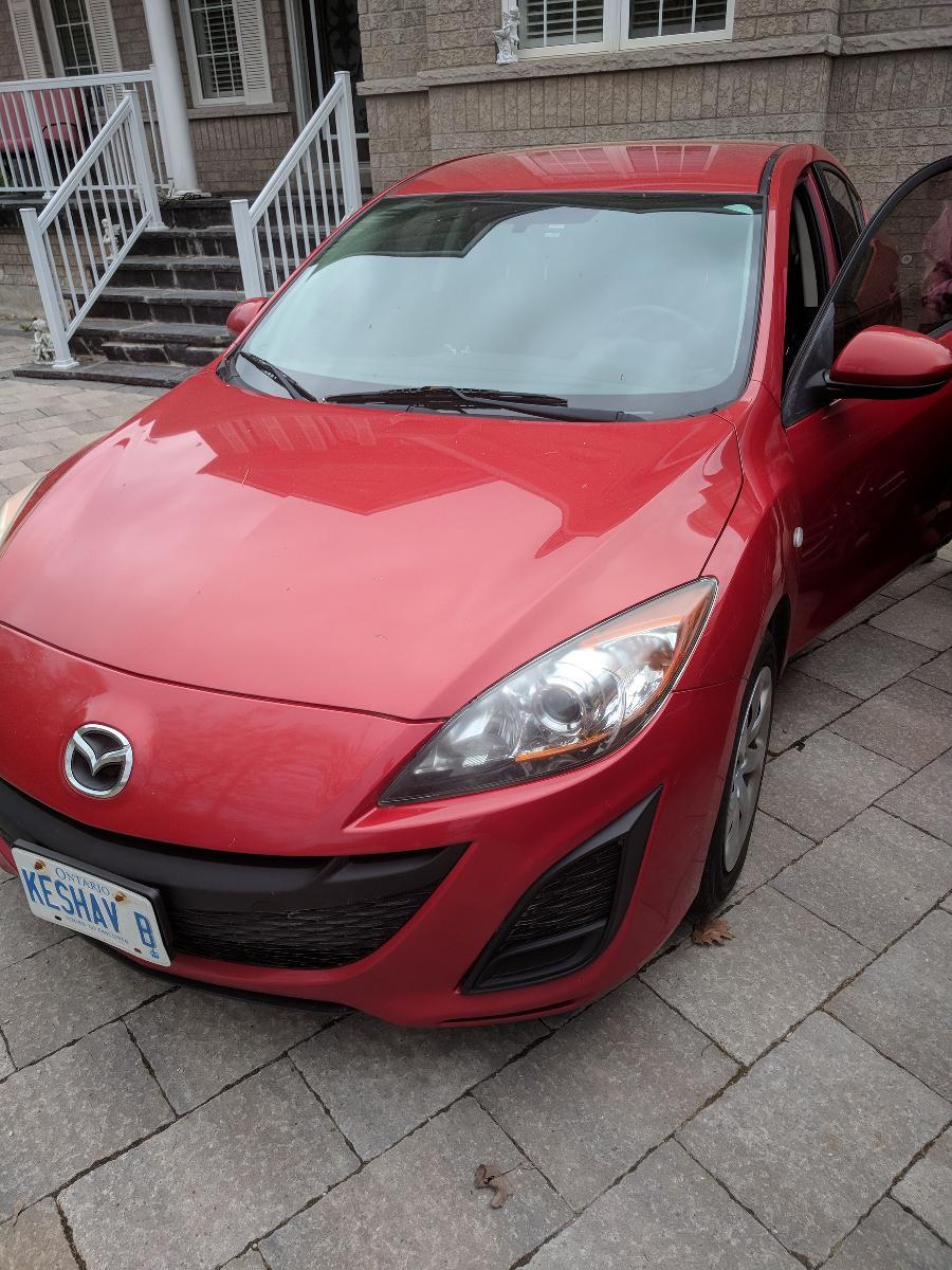 Mazda 3, Sedan, 4 Door, 5 Passenger
