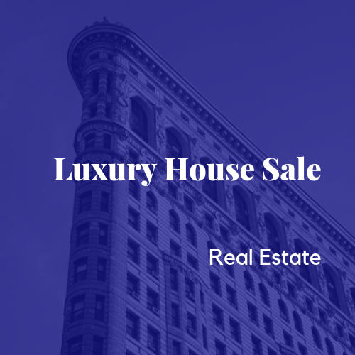 Luxury House Sale Top Level Domain Name