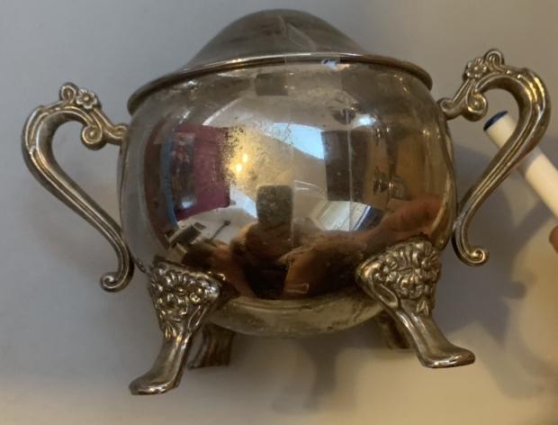 Silver Sugar Bowl