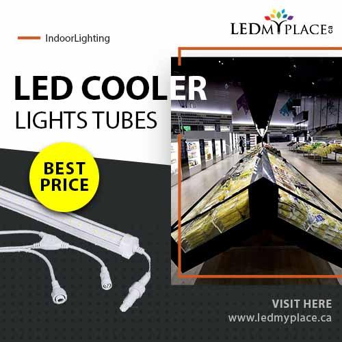 Install LED Cooler Tube That Will Bright your Product