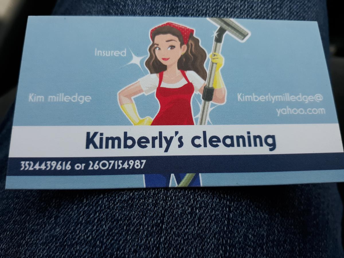 Kimberly's cleaning service