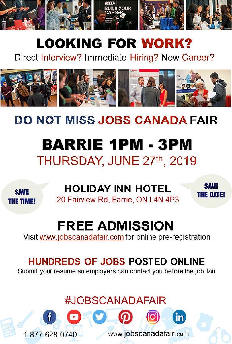 Barrie Job Fair