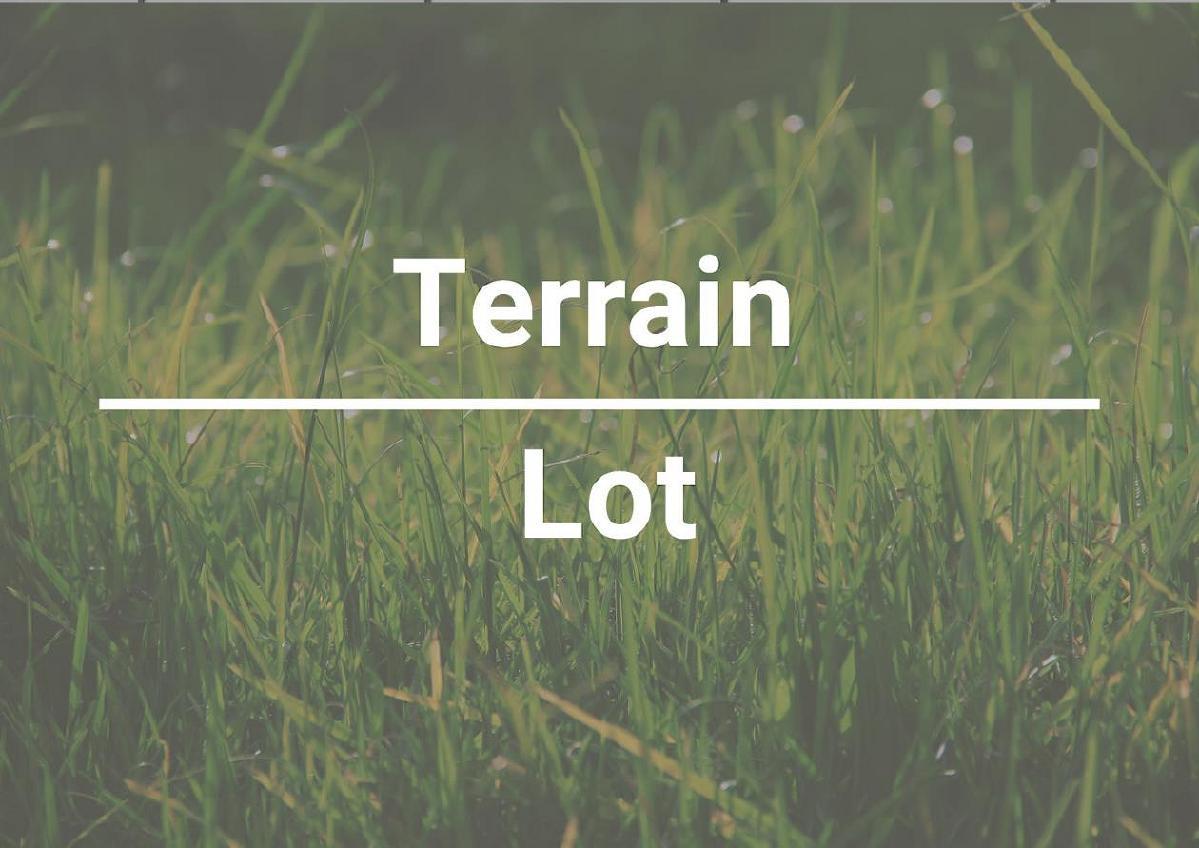 Terrain  pc idéal à construire et développer