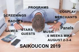 PROGRAM SCHEDULE UP FOR SAIKOUCON