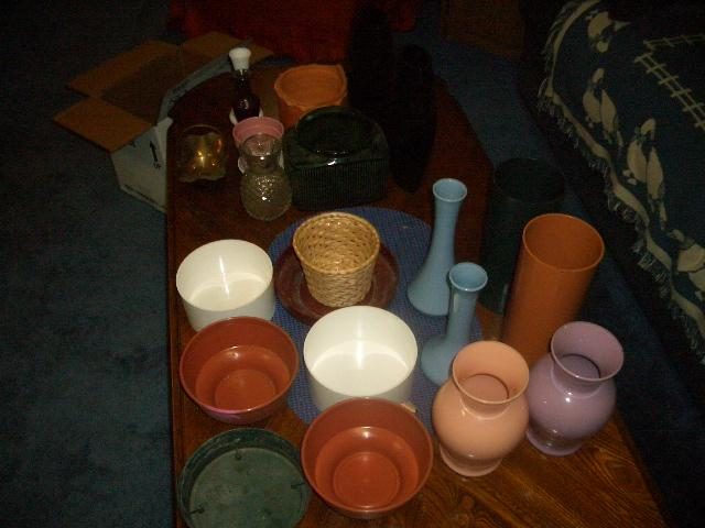 Brand New Assorted Vases / Planters
