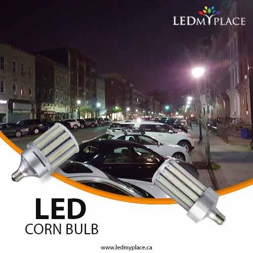 Led Corn Bulbs Illuminate Outdoor Spaces With Energy