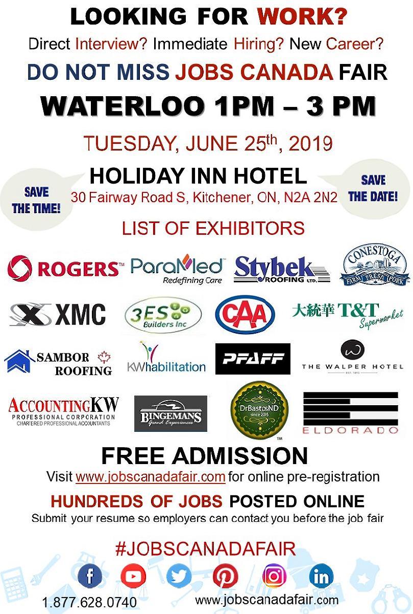 Waterloo Job Fair