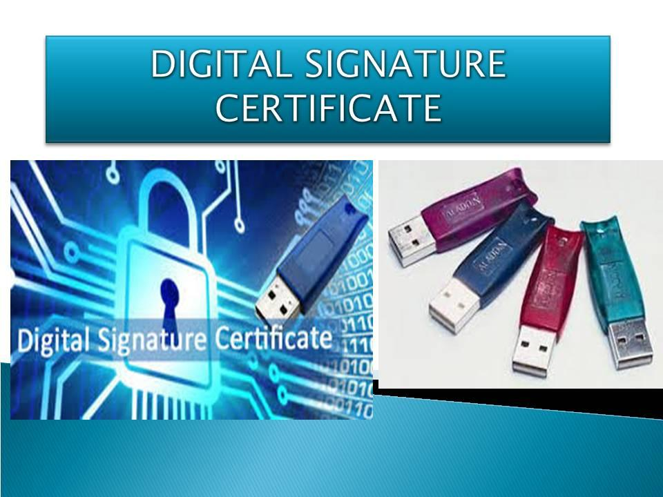 Digital Signature Certification In Lucknow