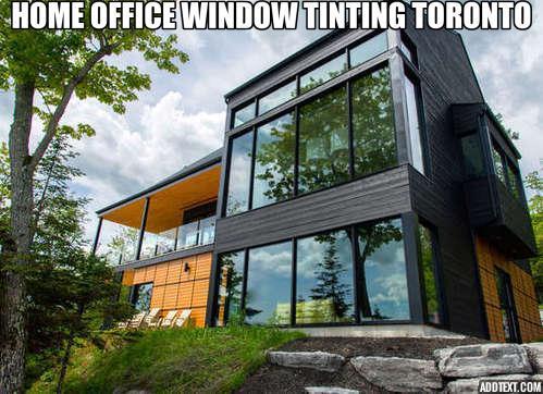 Glass window tinting in Toronto by Window Tint Team