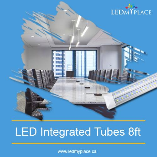 Remove All Your Dark-Spot By Using 8ft LED Integrated Tube