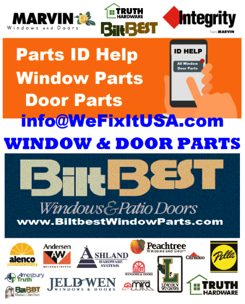 Window and Door Parts for Schools, Institutions, Government