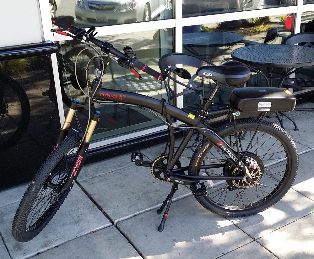 Prodeco V3 Phantom X2 Folding Electric Bicycle