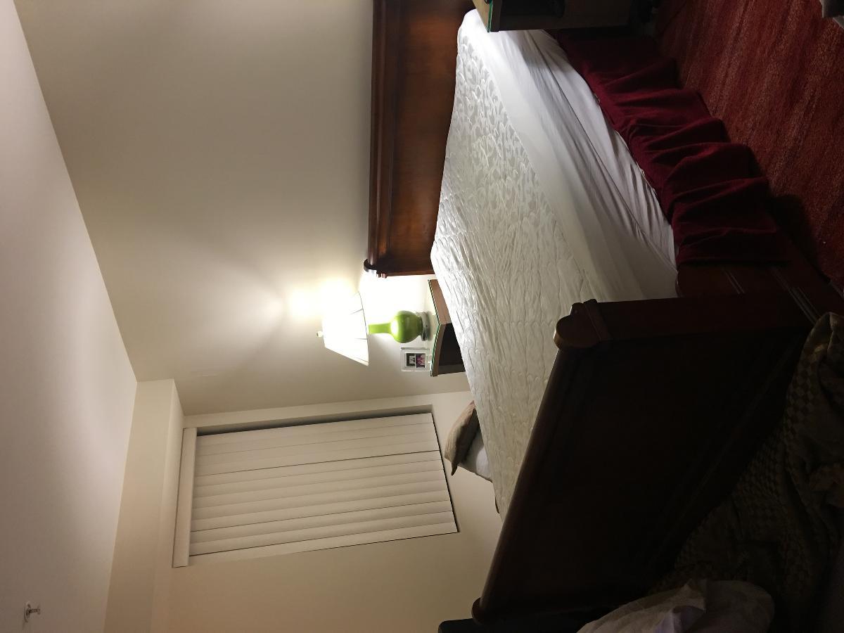 Queen sleigh bed and memory foam mattress