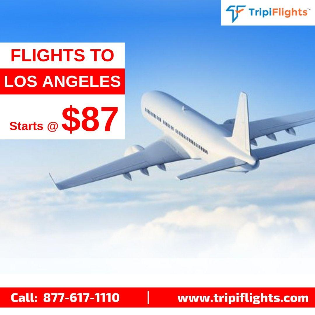 Cheap flights to Los Angeles are available on Tripiflights
