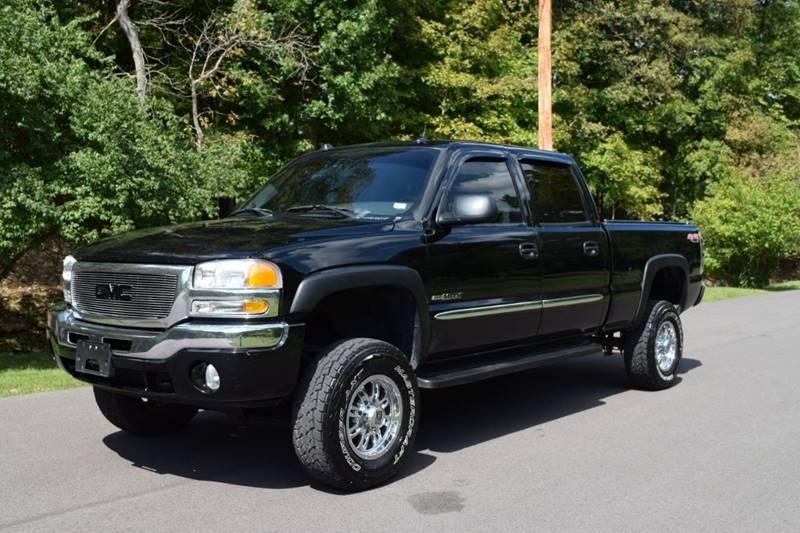 GMC Sierra  HD Black Pickup Truck  miles