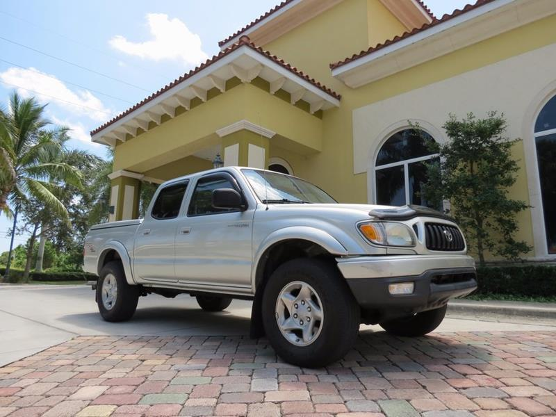 Toyota Tacoma Silver Truck Pickup  Miles