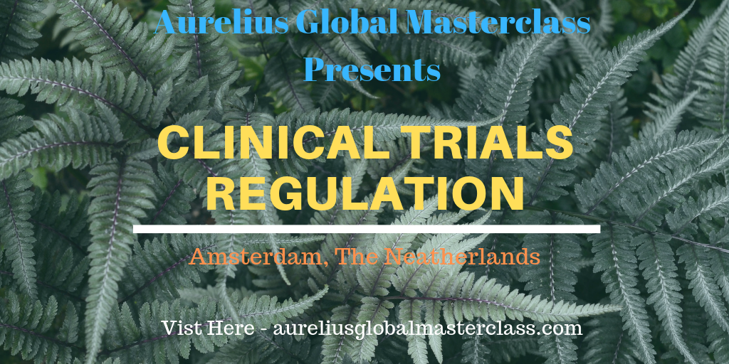 Clinical Trials Regulation training in Europe.
