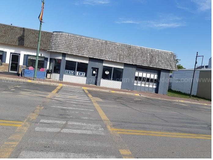 Lot and Attached Building for Sale Address: 109 Ellice St.